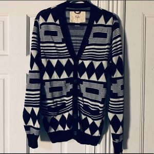 Urban Outfitters black and white printed cardigan